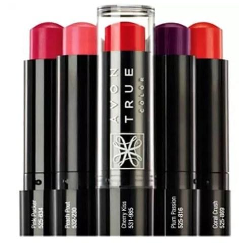 avon true color lip balms