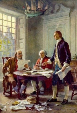 writing the declaration of independence usa freedom history julyl4th