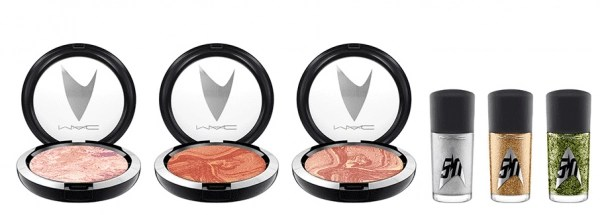 MAC Cosmetics Star Trek Collection blush and nail polish