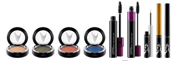 MAC Cosmetics Star Trek Collection eye shadow mascara liner