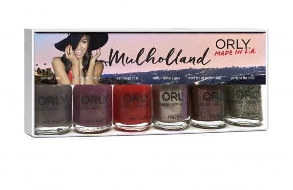Orly Mulholland nail polish collection