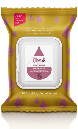 Yes to Primrose oil miracle oil wipes a natural product