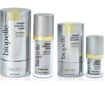 Biopelle skincare tensage stem cell eye and face cream