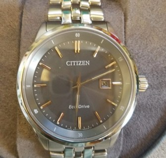mens' citizen watch sapphire collection BM7251-53H0
