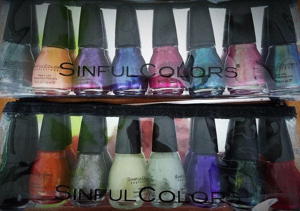 SinfulColors Full Nail reviews: Faceted Illusions and Guise and Ghouls