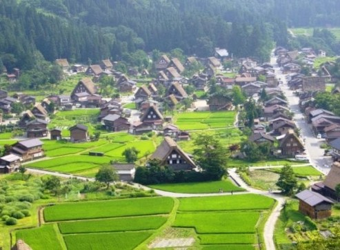 gifu- Japan prefecture-countryside