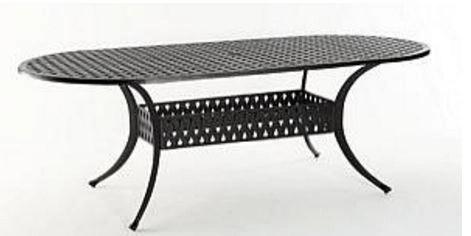 HSN Amalfi/Borghese Dining Table - Oval 104-7292-hsn