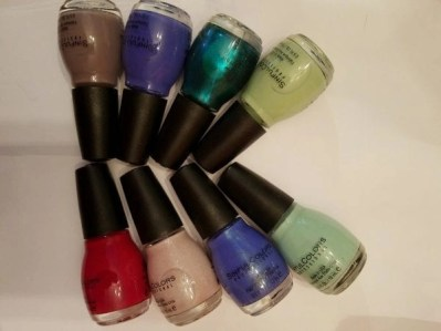 new core colors for winter 2017 from Sinful COlors