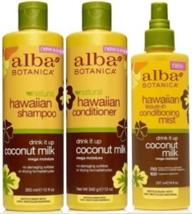 alba-botanica-hawacaiin-coconut-milk-collection for dry hair