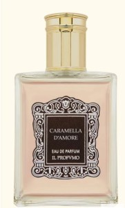 Caramella Damore fragrance bottle