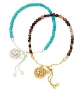 Lisa Hoffman friendship bracelet duo
