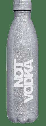 not vodka platinum glitter water bottle fifty dollars for Valentines Day