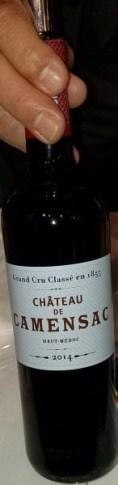 chateau de camensac bordeaux wine from france