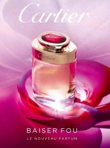 cartier fragrance Baiser fou