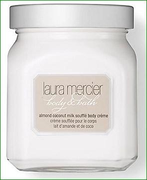 laura mercier body and bath almond coconut milk souffle body creme