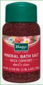 kneipp minreal bath salt davils claw back comfort
