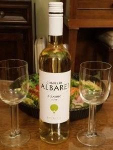 albarino wine from Rias Baixas in spain