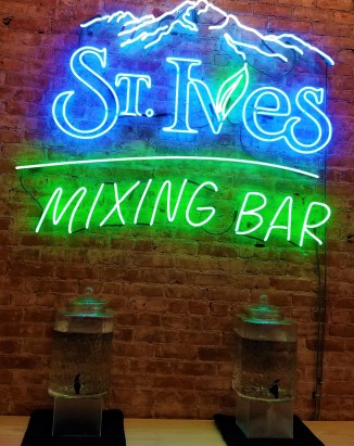 st. Ives Mixing bar event