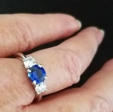 njolee MS271-A-Gem sapphire 3 gem ring on advicesisters finger