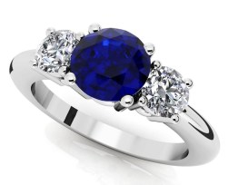 anjolee 3 stone ring
