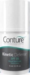conture kinetic defense sunscreen spf 30