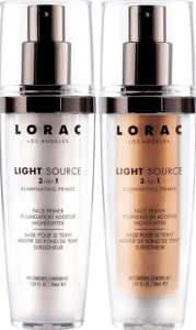 lorac Light Source 3 in 1 illuminating primer dawn and dusk