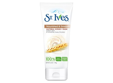 st, ives nourish and smooth facial scrub