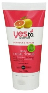 yes to grapefruit scrub