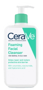 cerave hudrating facial cleansre foraming