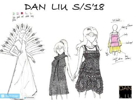 Dan Liu NYFW SS18 sketch