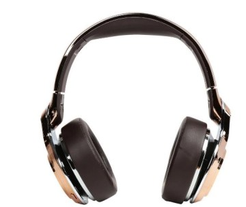 Monster elements Wireless Over Ear Headphones sideways