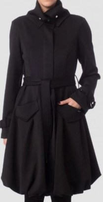 joseph Ribkoff coat #173327 belted front view