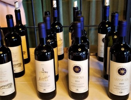 italitan wines with albana grapes