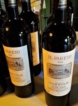 italian wine nozzole pareto