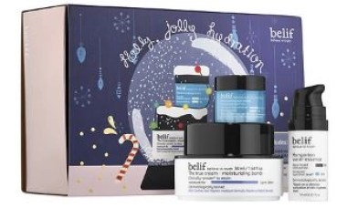 favorite things holly jolly hydration set from belif