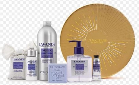 loccitane lavender collectoin holiday