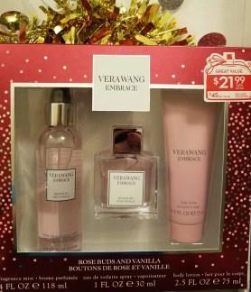 vera wang embrace fragrance set beauty booty