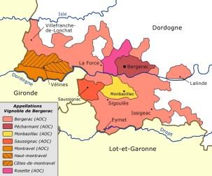 map of southwest france