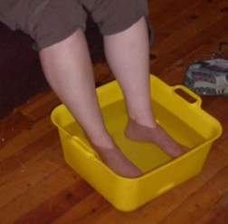 soaking your feet