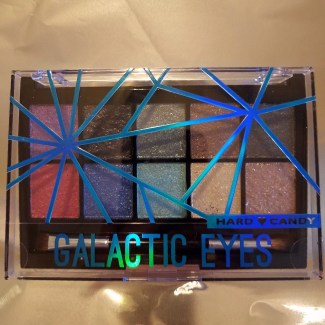 hard candy galactic eye shadow palette cover closed