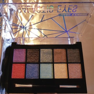 hard candy galactic eye shadow palette