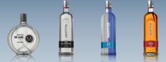 a photo showing khor various vodka varieties