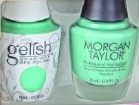 gelish mini and morgan taylor duo
