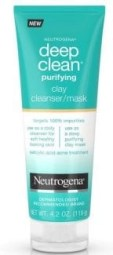 Neutregena deep clean puridying clay mask