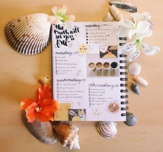 keep an organizational diary