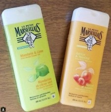 two of the le petite marsailles body lotions