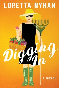 book cover for Digging In a Novel