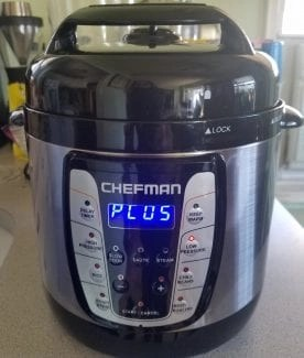 chefman pot lit up 2.5 quart size