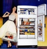 I love my fridge! I always wanted new appliances
