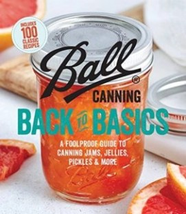Book Cover Ball canning back to Basics stock photo from amazon